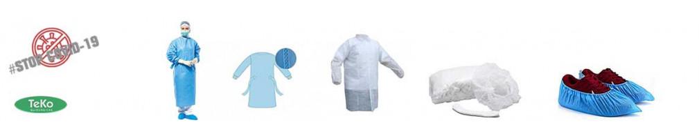 Vestuario desechable - Distribuidor Sanitario - Teko