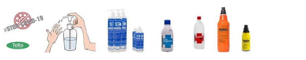Antisepticos y Desinfectantes -Teko - Distribuidor Sanitario
